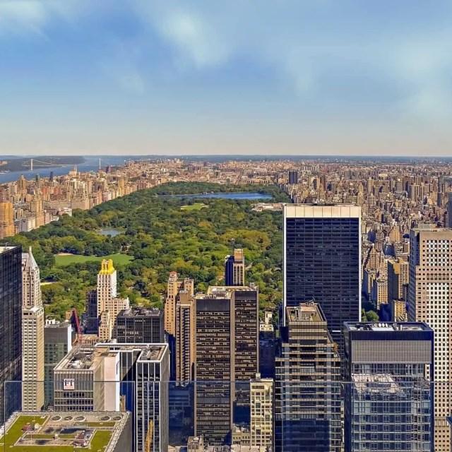 NYC Central Park and Skyline