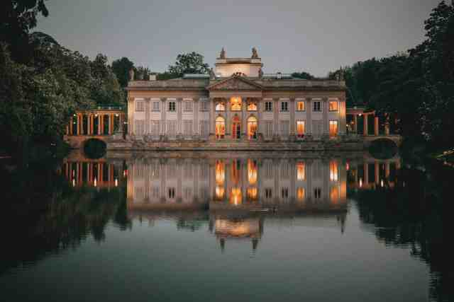 Royal Palace on the Water in Lazienki Park