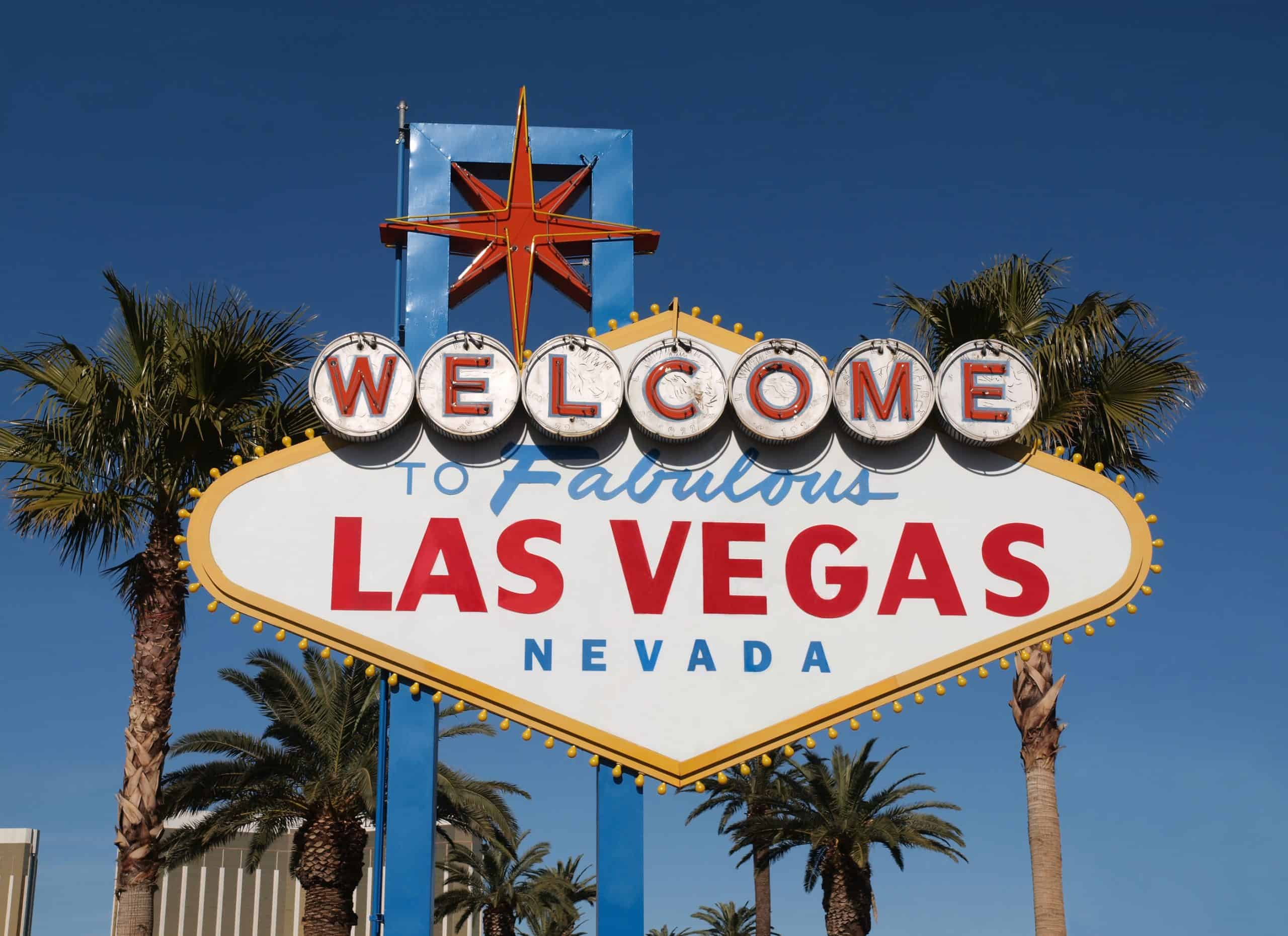 Las Vegas Nevada welcome sign