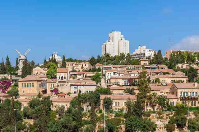 Yemin Moshe old neighborhood - jerusalem attractions, interesting places to visit in jerusalem