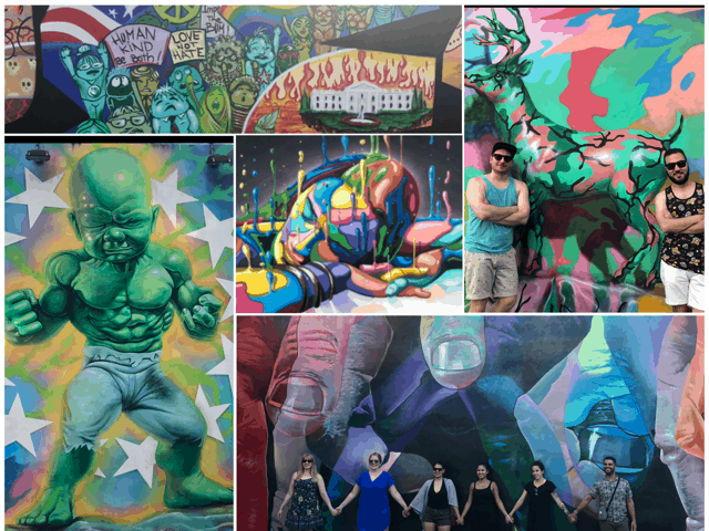 The Murals at Wynwood Walls. fun things to do miami. things to do in miami with kids. outdoor activities miami
