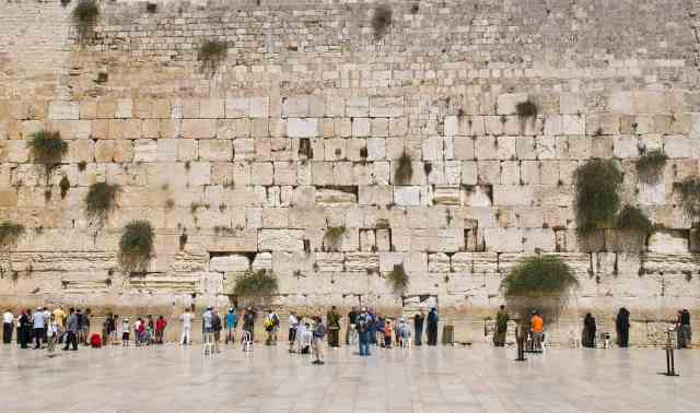 The western wall in jerusalem israel, what to see in jerusalem