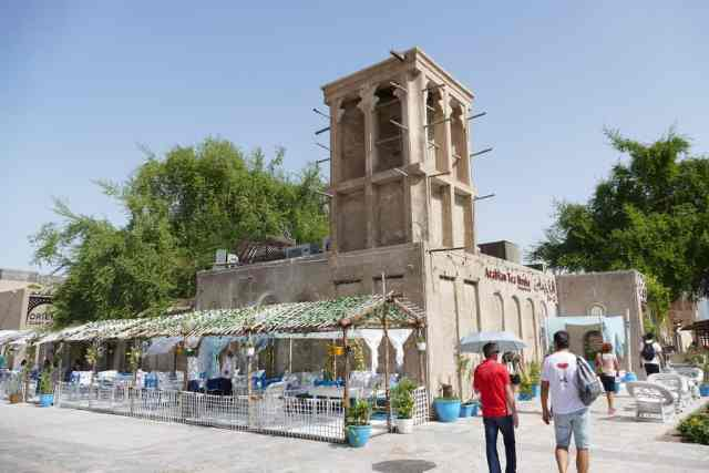 Al Bastakiya Quarter - old dubai. Best places to visit in dubai.