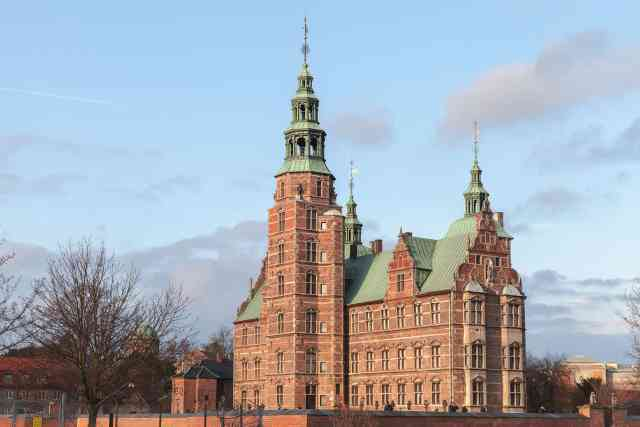 Rosenborg Castle exterior, this is renaissance castle located in Copenhagen and a must see in Copenhagen