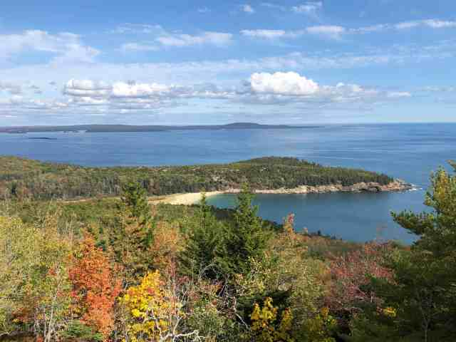 best road trips in new england and new england trips arrive to Acadia National Park