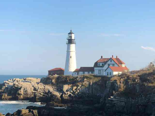 Portland Head Light - A trip to Maine must include at least one lighthouse