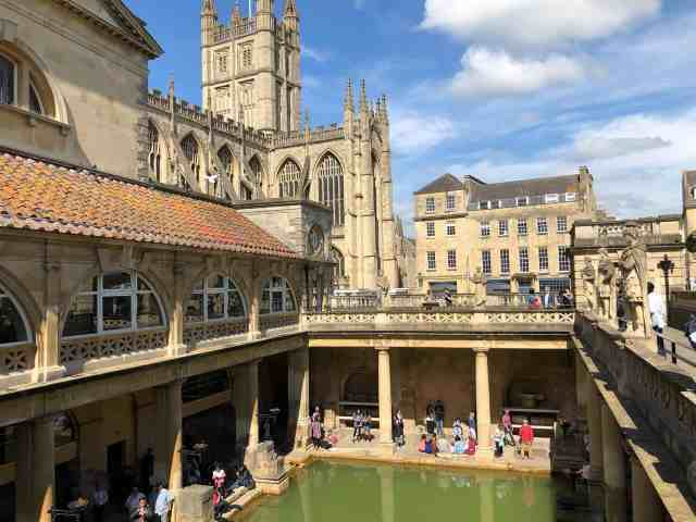The Roman thermae bath spa in bath city. things to do in roman bath. what to see in bath england.