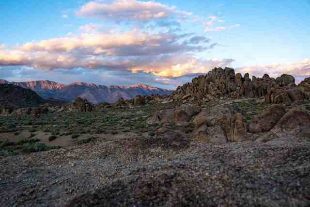 Alabama Hills - best places to camp in california, campgrounds california