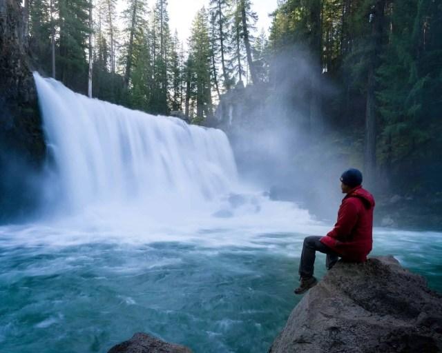 McCloud Falls - best camping places in california