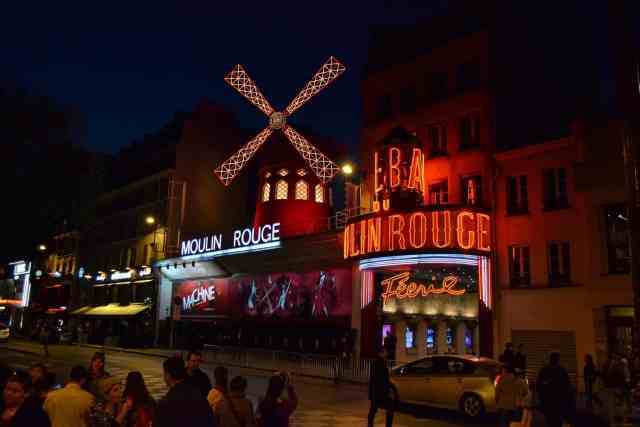 The Moulin rouge is one of the greatest attractions of paris and the coolest things to do paris france