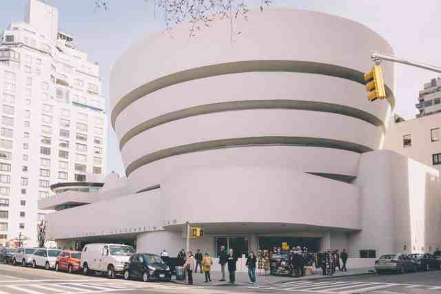 The Guggenheim is an art museum in nyc, one of the best museums in n.y.c