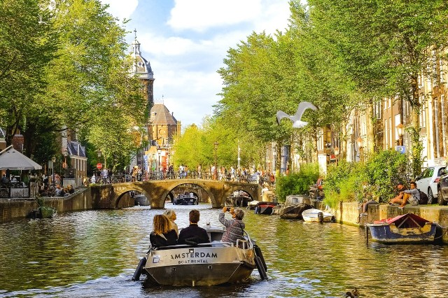 The most beautiful things to see in amsterdam are through the canals. you get the best sights to see amsterdam