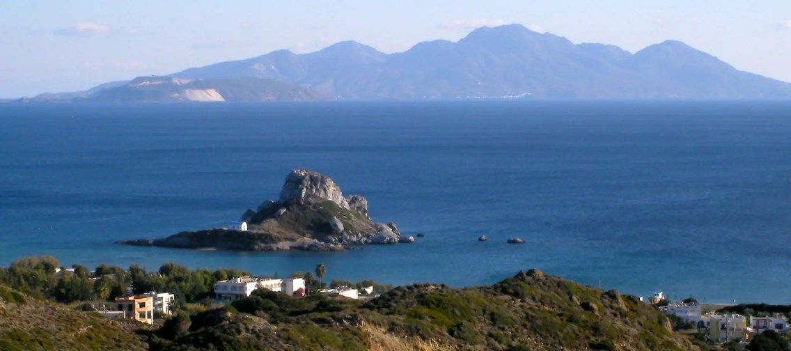 Kastri Island with Nissyros behind