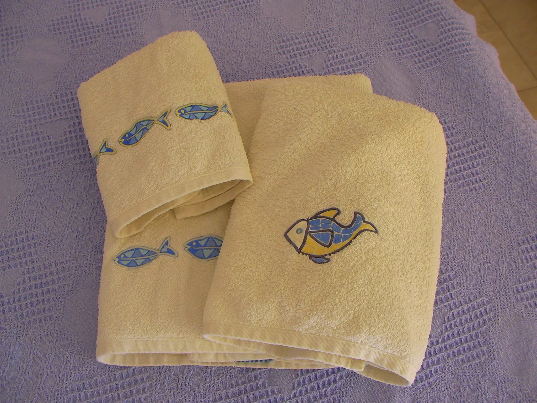 Towels and bedlinen are  provided