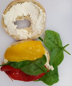 lithuanian flag bagel