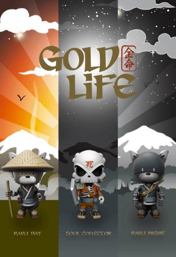 Huck Gee x Mighty Jaxx gold life release date