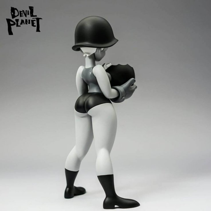 Sally Loves Bomb Clone Army Sallies Mono Edition By Devil Planet KANG GOON x TJ CHA back