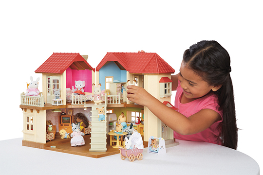 CALICO CRITTERS LUXURY TOWNHOME GIFT SET The Toy Insider