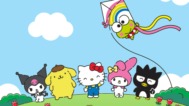The Sanrio family and one of the most famous one, Hello Kitty