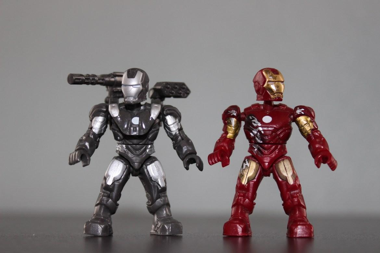 Marvel Mega Bloks (Mega Construx) Iron Man and War Machine