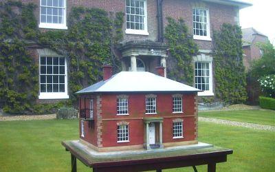 1/24 Scale Georgian House Model