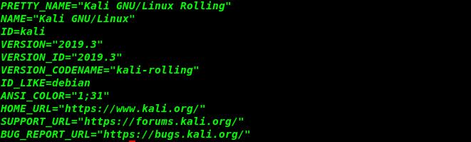 Kali Linux | Version