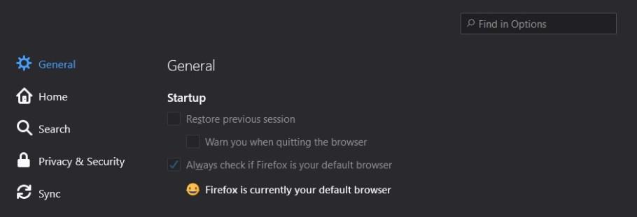 firefox _ default browser