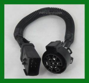Curt 57300 7 Way Harness Adapter Dodge to GM Ford OEM 7 Pin Adaptor | eBay