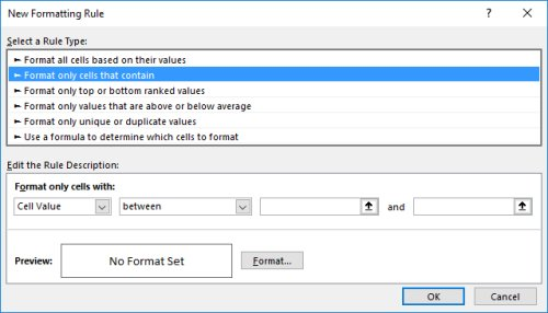 Conditional Format Date