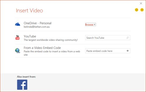 Embed a YouTube Video in PPT