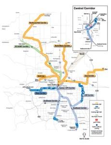 Denver FasTracks Map