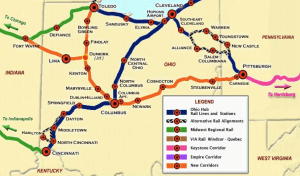 Ohio Hub Map