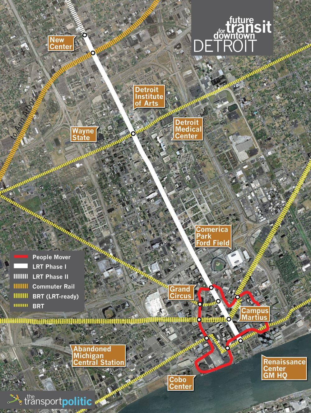 Bringing Rapid Transit to Detroit | The Transport Politic