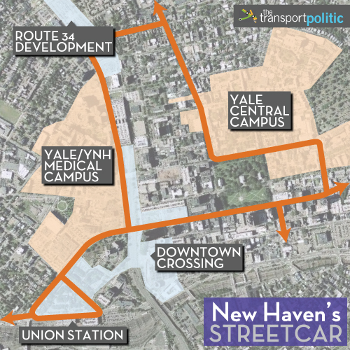 Proposed New Haven Streetcar