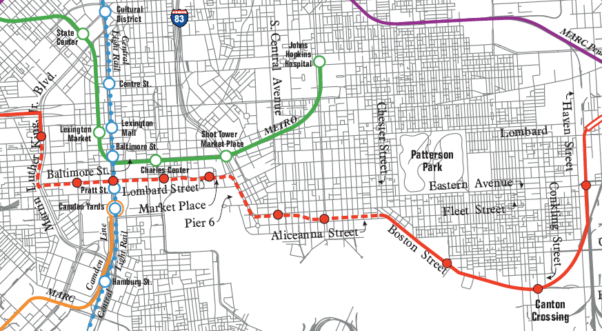 Baltimore Gears Up for Fight on Red Line Transit Plan « The ...