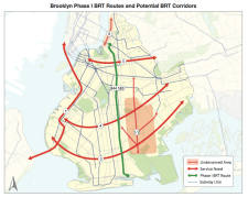Brooklyn BRT Routes