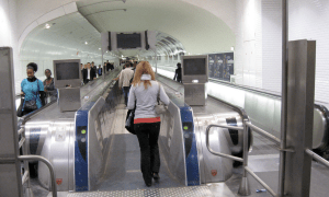 Paris Montparnasse Moving Walkway