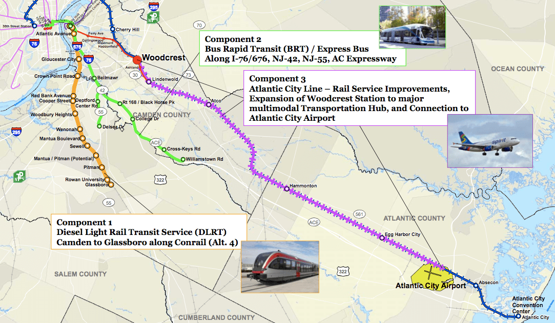 DRPA Announces Significant South Jersey Transit Proposals « The