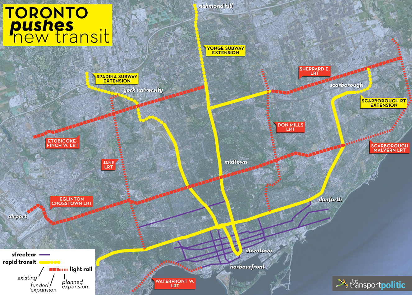 Eglinton Subway Map.Ontario Agrees To Fund Yet Another Lrt Line In Toronto The