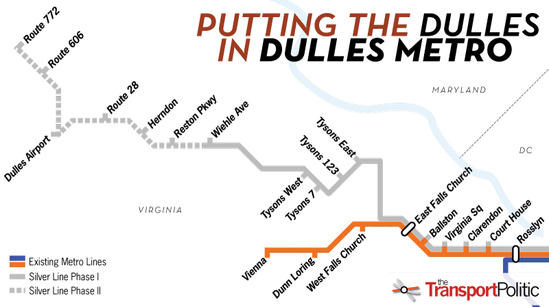 Finding the Funding for Metro to Dulles Airport | The ... on map of the world's fair, map of the river system, map of the navy yard, map of the statue of liberty, map of bus system, map of the university campus, map of the harlem renaissance, map of the city, map of the supreme court, map of the tri-state area, map of the sewers,