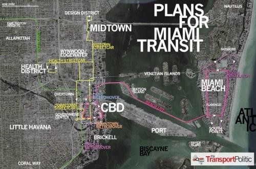 Plans for Miami Transit
