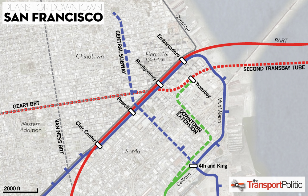 San Francisco Ready To Begin Construction On Transbay Terminal The
