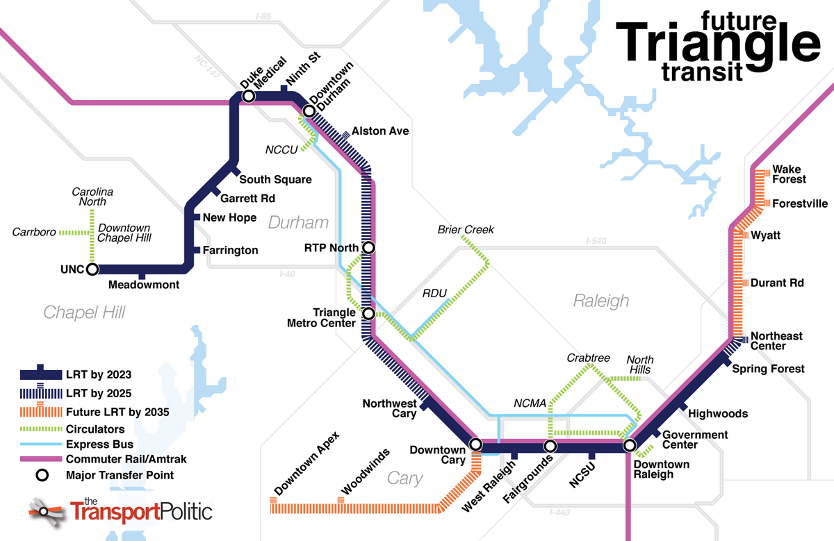 North Carolinas Triangle Questions How Best to Connect a Multipolar