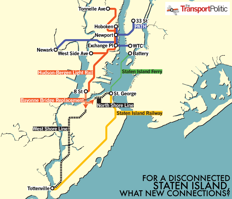 A Light Rail Extension for Staten Island?   The Transport ... on ma railroad map, gt railroad map, nys&w railroad map, sp railroad map,
