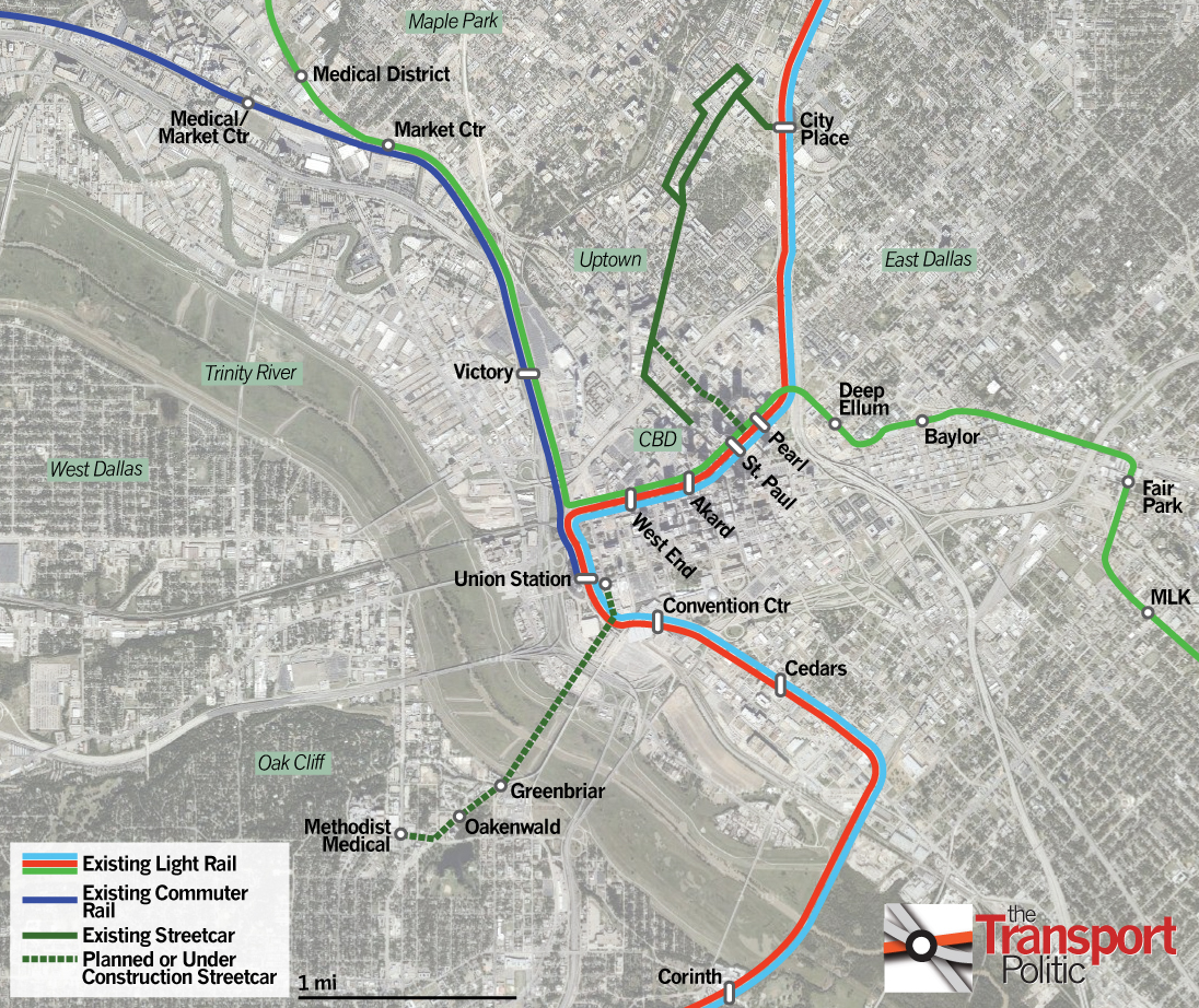Dallas, a Transit Builder if Not Pioneer, Moves Forward on Streetcar ...