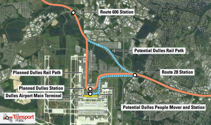 Does an Airport Line Have to Reach the Airport? « The Transport Politic