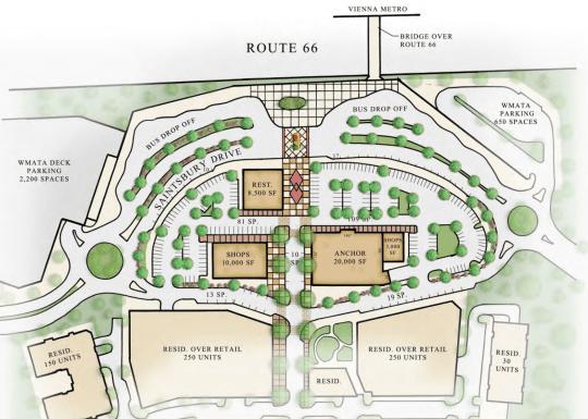 Vienna Town Center Plan