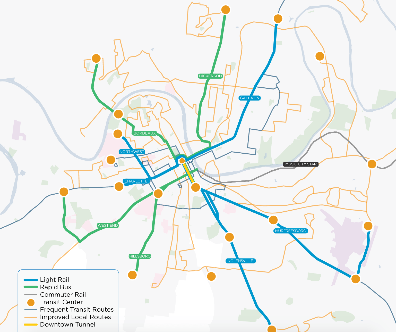 Nashville plans for a big boost in local transit and is hoping its