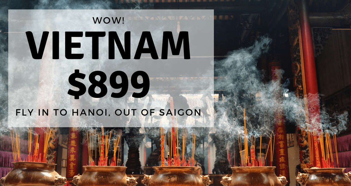 Vietnam Flights Cheap Airfare Special