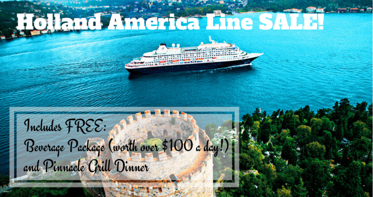 Holland America Line Cruise SALE!
